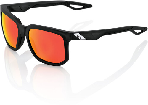 100% Speedcoupe Sonnenbrille (HD Red Multilayer Gläser, verspiegelt) - Sonnenbrillen - Performance Arc Light